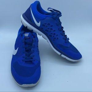 Nike Flex Run 2015 blue sneakers
